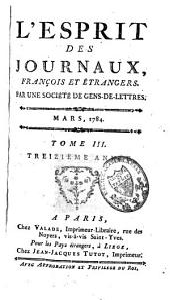 Nouvel esprit des journaux français et étrangers