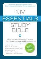 NIV  Essentials Study Bible  eBook PDF