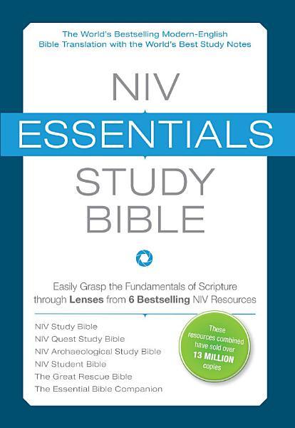 NIV  Essentials Study Bible  eBook PDF