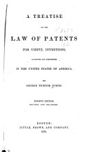 A Treatise on the Law of Patents for Useful Inventions PDF
