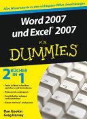 Word 2007 und Excel 2007 f  r Dummies PDF