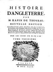 Histoire D'Angleterre: Volume13