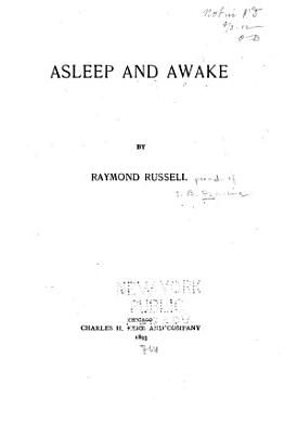 Asleep and Awake PDF