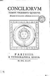 CONCILIORVM.: Ab anno DCCCLXXII. ad annum DCCCCIX. TOMVS VIGESIMVS QVARTVS, Volume 24