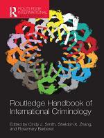 Routledge Handbook of International Criminology PDF