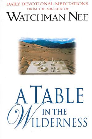 A Table in the Wilderness PDF