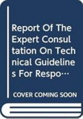 Report Of The Expert Consultation On Technical Guidelines For Responsible Fish Trade