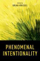 Phenomenal Intentionality PDF
