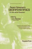 Recent Advances In Geomathematics An International Symposium