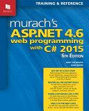 Murach s ASP  NET 4  6 Web Programming with C  2015 PDF