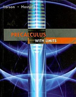 Precalculus with Limits Book