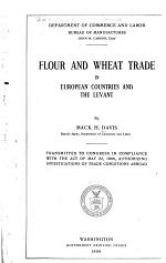 Flour and Wheat Trade in European Countries and the Levant