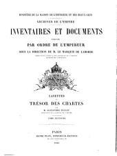 Layettes de Trésor des chartes: Volume2