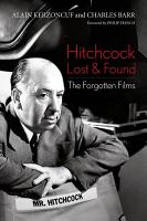 Hitchcock Lost and Found PDF