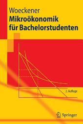 Mikroökonomik für Bachelorstudenten: Ausgabe 2