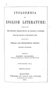 Cyclopedia of English Literature PDF