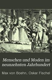 Menschen und Moden im neunzehnten Jahrhundert: nach Bildern und Kupfern der Zeit, Band 3