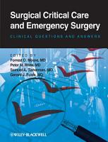 Surgical Critical Care and Emergency Surgery PDF