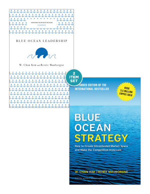 Blue Ocean Strategy with Harvard Business Review Classic Article    Blue Ocean Leadership     2 Books  PDF