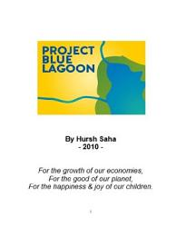 Project Blue Lagoon The Ultimate Solution To Pollution  Book PDF