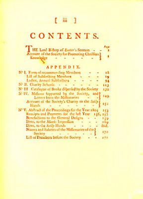 A sermon  on Mark  i  3  preached     June 5  1806  the time of the yearly meeting of the Charity schools in London and Westminster  To which is annexed  An account of the Society for promoting Christian knowledge PDF
