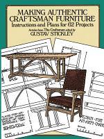 Making Authentic Craftsman Furniture PDF