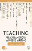 Teaching African American Women s Writing PDF
