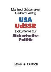 USA — UdSSR: Dokumente zur Sicherheitspolitik