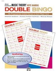 Essentials of Music Theory: Note Naming Double Bingo