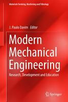 Modern Mechanical Engineering PDF
