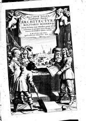 Matthiae Dögen Architectura militaris moderna varijs historijs, tam veteibus quam novis confirmata, et praecipuis totius Europae munimentis, ad exemplum adductis exornata