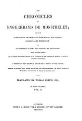 The Chronicles of Enguerrand de Monstrelet: Volume 2