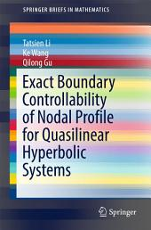 Exact Boundary Controllability of Nodal Profile for Quasilinear Hyperbolic Systems