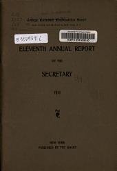 Report: Volume 11