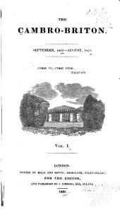 The Cambro-Briton: Volume 1