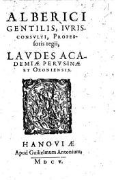 Laudes academiae Perusinae et Oxoniensis