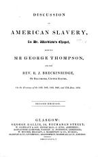 Discussion on American Slavery PDF