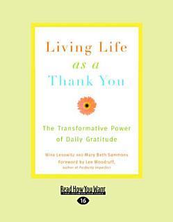 Living Life as a Thank You Book
