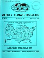 Weekly Climate Bulletin PDF
