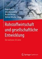 Rohstoffwirtschaft und gesellschaftliche Entwicklung PDF
