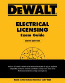 Dewalt Electrical Licensing Exam Guide PDF