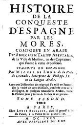 Histoire de la conqueste d'Espagne par les Mores: 2