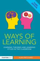 Ways of Learning PDF