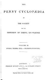Penny Cyclopaedia of the Society for the Diffusion of Useful Knowledge: Volumes 11-12
