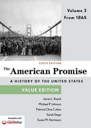 The American Promise Value Edition Volume 2 Book PDF