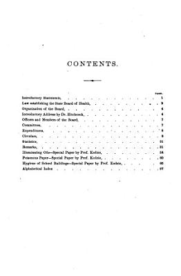 Annual report of the Commissioner of the Michigan Department of Health for the fiscal year ending     1873 PDF