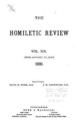 The Homiletic Review PDF