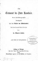 Das Testament PDF