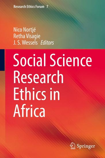 Social Science Research Ethics in Africa PDF