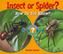 Insect Or Spider  PDF